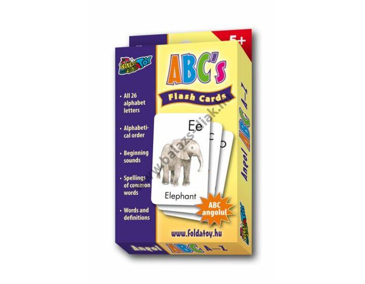 ABC betűkártyák - angolul