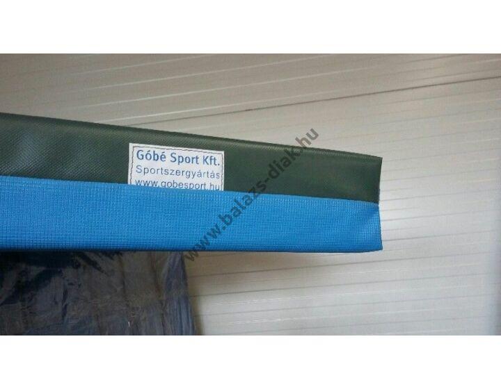 Tornaszőnyeg - PVC huzatban, kék-zöld, Méret: 200 x 140 x 10 cm