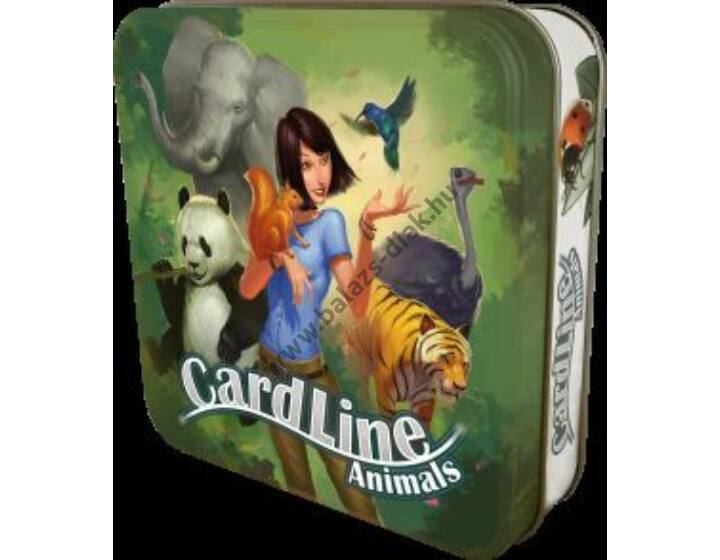Cardline Állatok ismeretterjesztő társasjáték (2-8 főre)