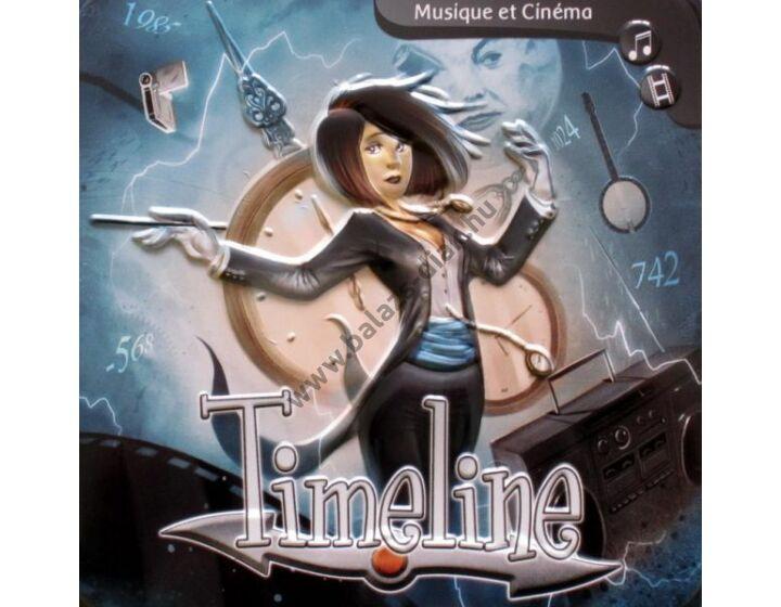 Timeline Zene és mozi - ismeretterjesztő társasjáték (5-10 főre)