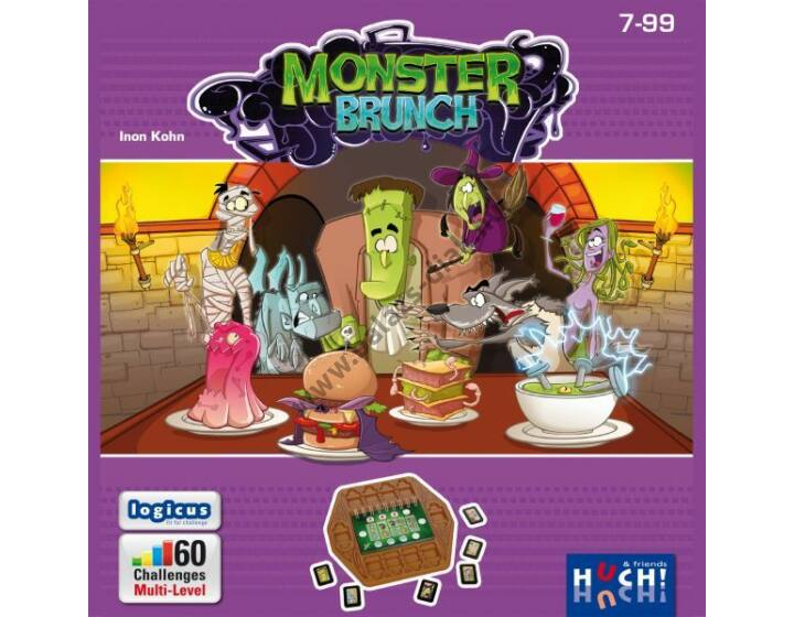 Monster Brunch - logikai társasjáték 1 főre