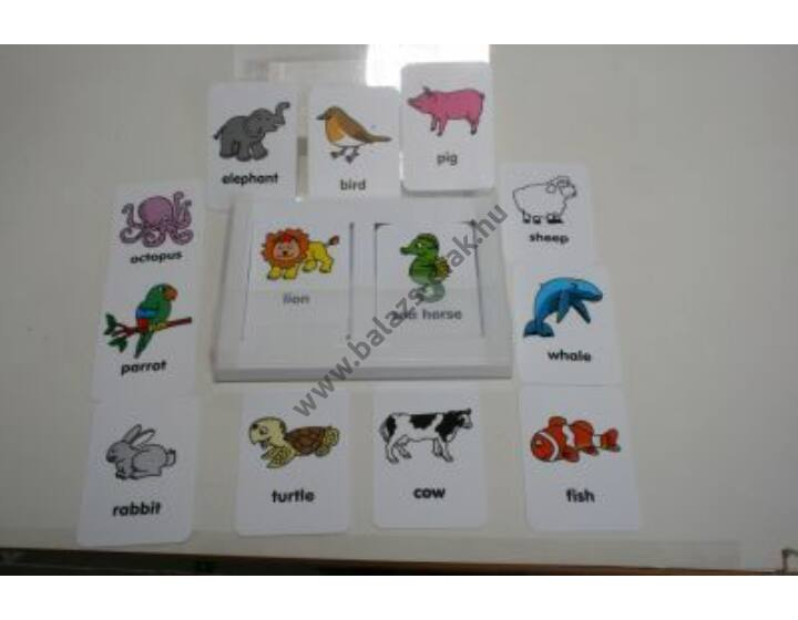 Memóriakártya - állatok