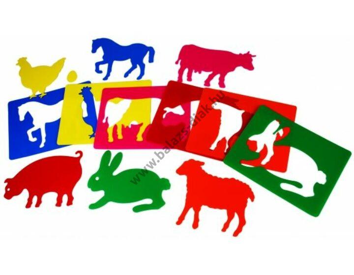 Formarajzoló - A farm állatai