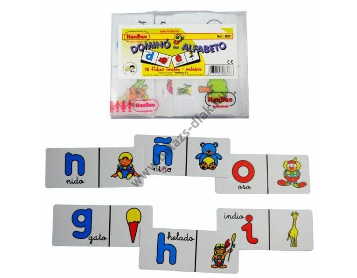 ABC dominó - angol nyelvű