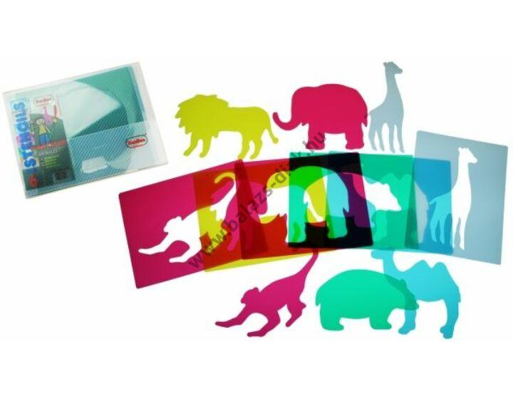 Formarajzoló - Állatkert (áttetsző)