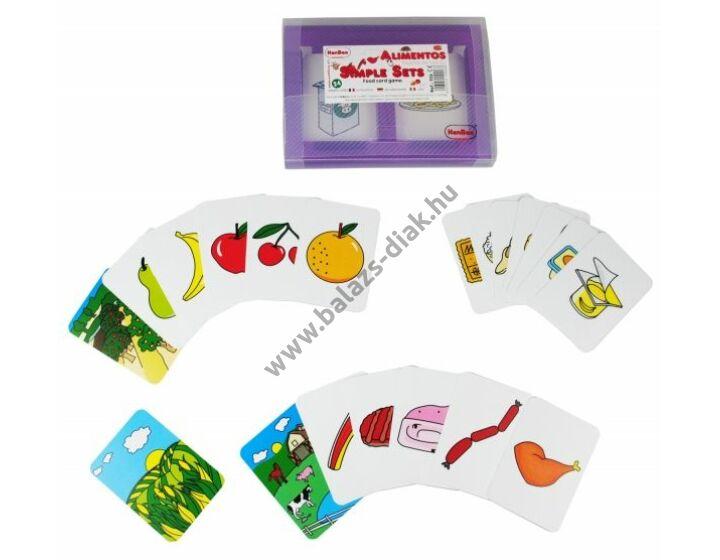 Honnan származnak az élelmiszereink- képkártyakészlet II.