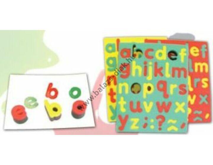 Szivacs bélyegző - Kisbetűk