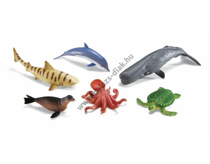 Az óceán állatai - műanyag élethű állatok