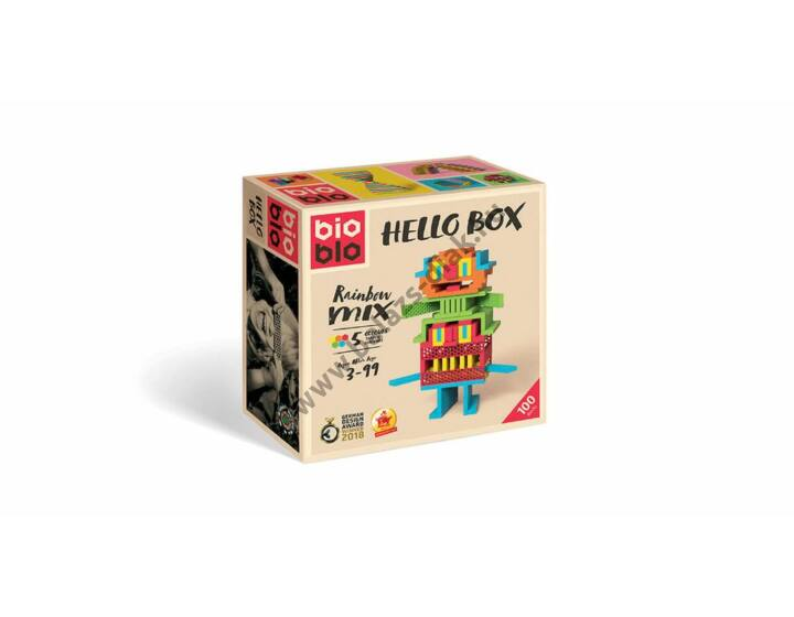 Bioblo Hello Box Rainbow Mix/100