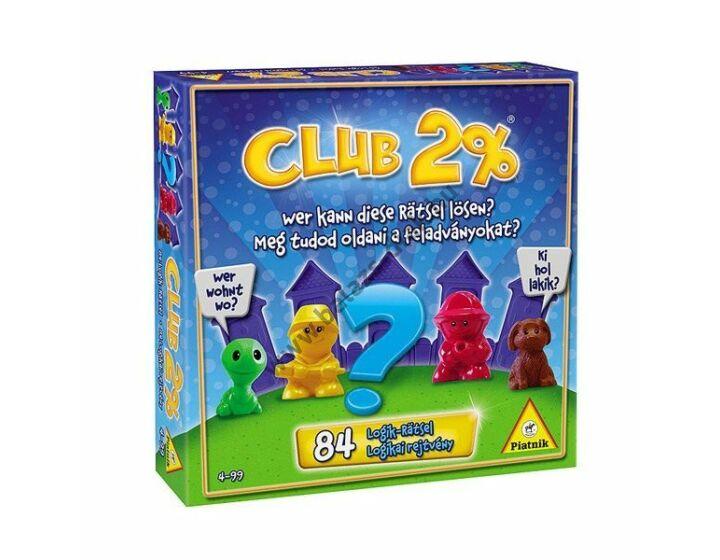 Club 2%-logikai társasjáték