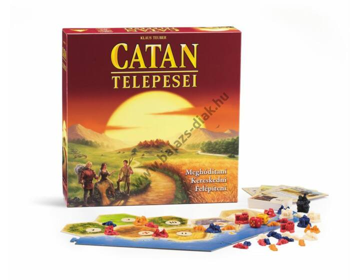 Catan Telepesei