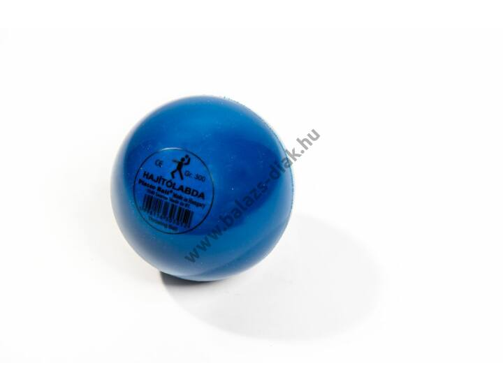 300g, hajító labda (sima falú, átm: 10cm)