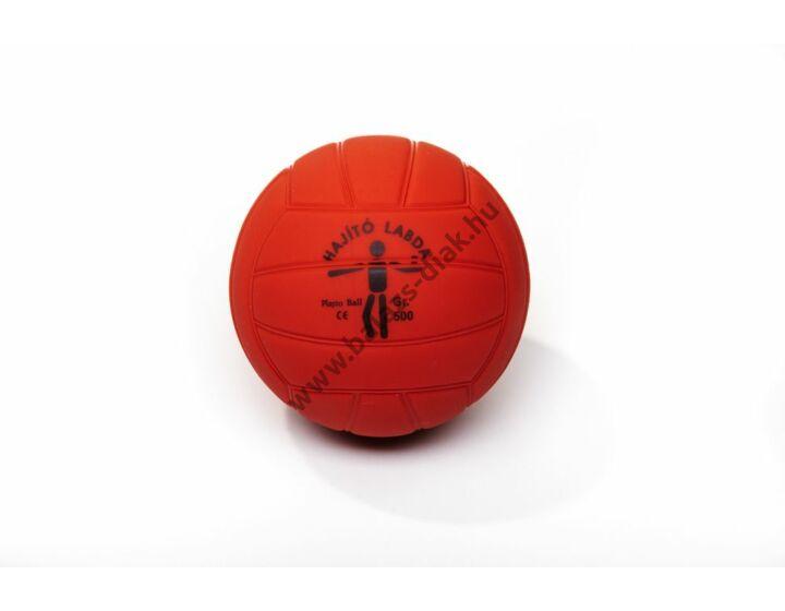 500g, hajító labda (18 paneles, átm: 12,9cm)