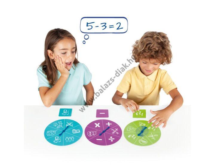 Matematikai feladványok és megoldásaik - képkártya készlet