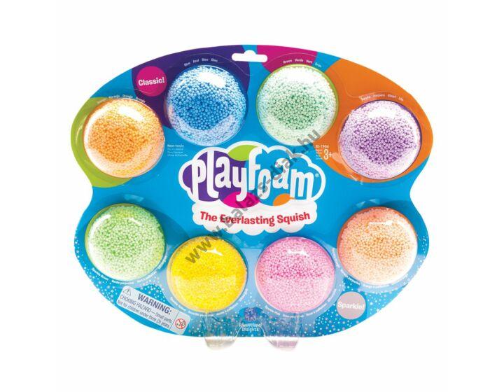 Playfoam gyöngy gyurma, 8db-os készlet
