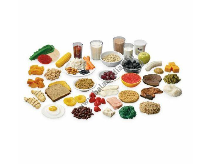 Ételkészlet, 36 db ételféleséggel