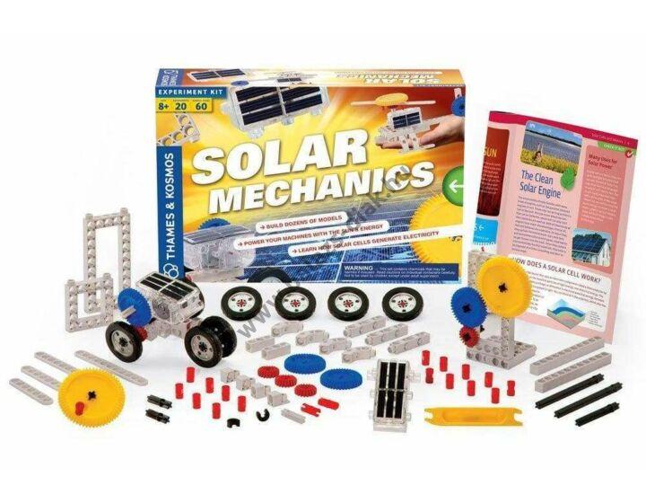 Napenergia tanulói építőkészlet