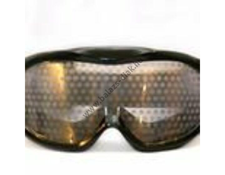 Marihuána hatásait szemléltető szemüveg